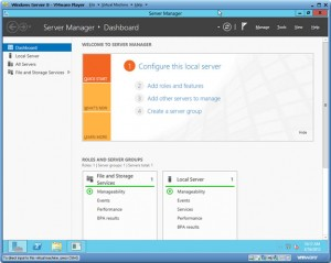 Windows Server 8 Beta Dashboard - Illustration Avolve Technology