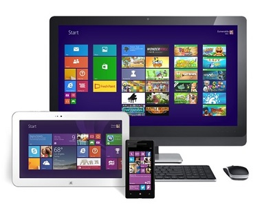 Windows Everywhere - Windows 8.1 will provide the same user experience on the desktop, tablet and smartphone (Photo Microsoft)
